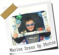 Click here to see photos of the children dressing up in marine themed costumes