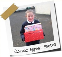 Click here to see photos from our Team Hope Shoebox Appeal