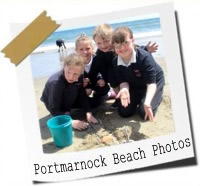 Click here to see photos from our trip to Portmarnock Beach