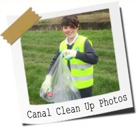 Click here to see photos of our canal cleanup